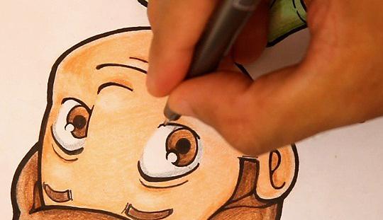 como aprender desenhar