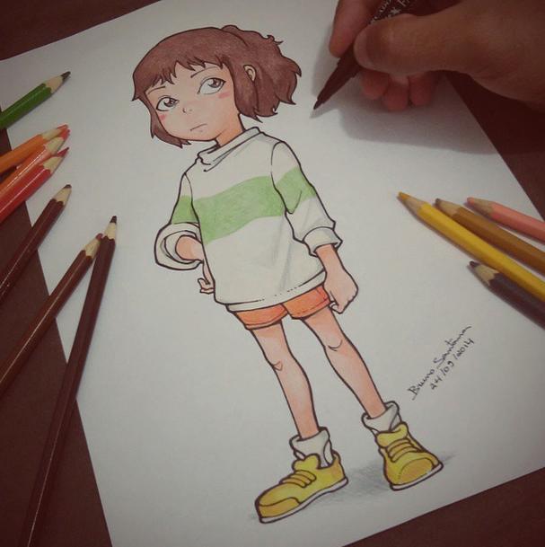 Como Desenhar Chihiro