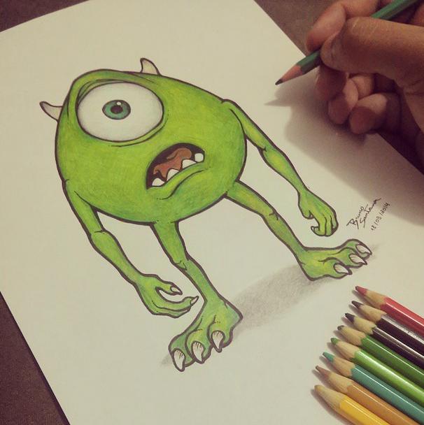 Como Desenhar Monstros SA