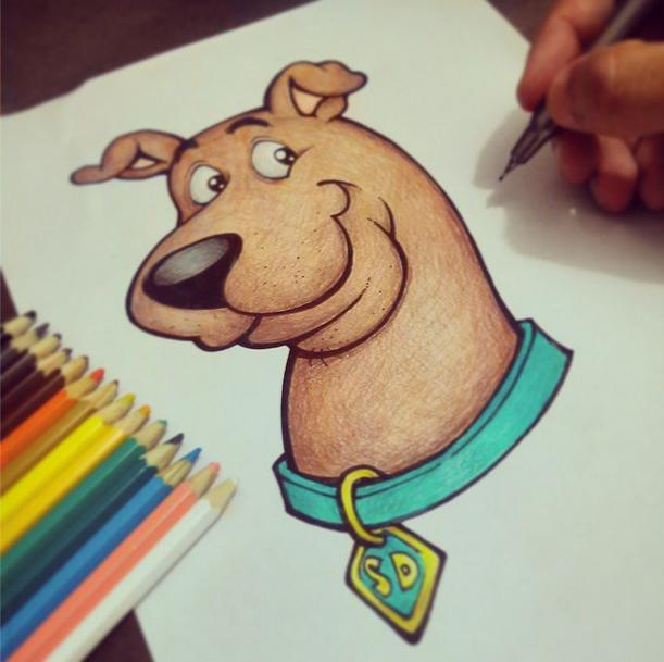 Como Desenhar Scooby
