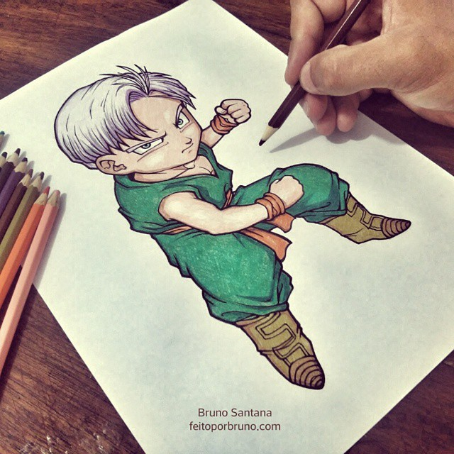 Como Desenhar Trunks