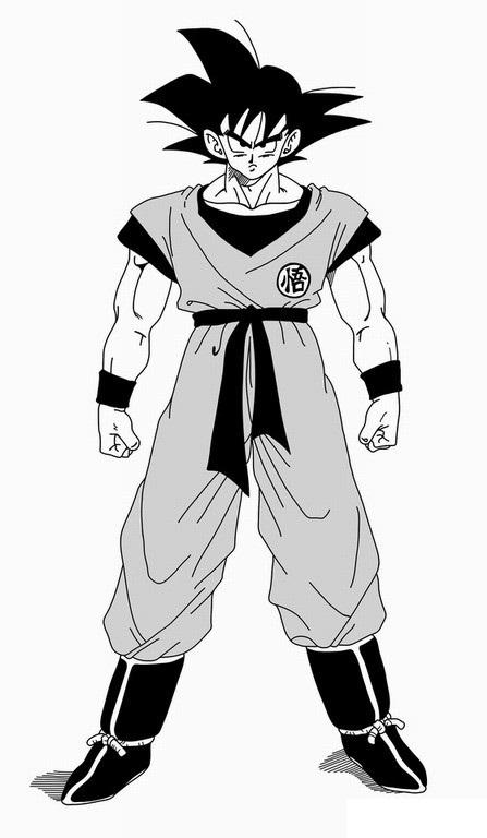 Como Desenhar o Goku