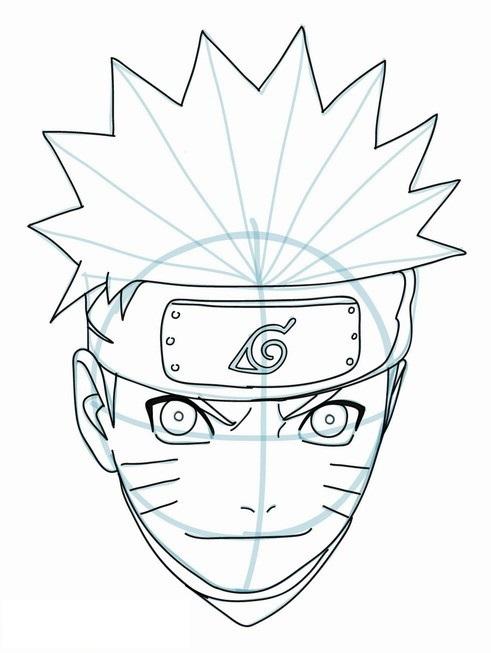 Populares Como Desenhar o Naruto (Muito Fácil) - Aprender a Desenhar RV14