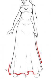 como desenhar vestidos muito fácil aprender a desenhar