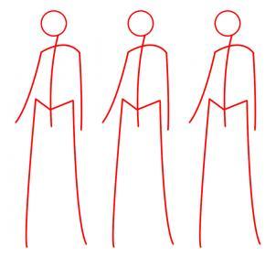Como desenhar um vestido simples passo a passo