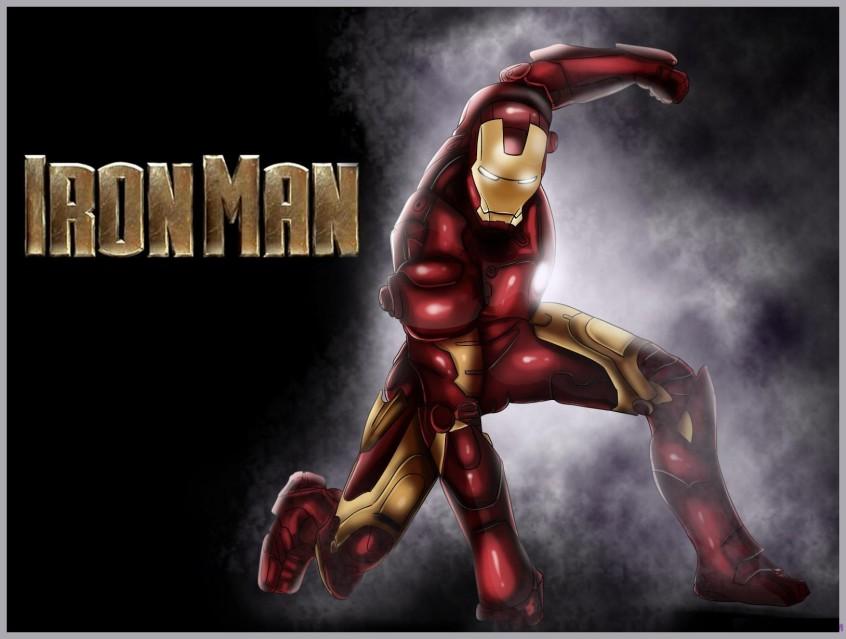 como desenhar o homem de ferro