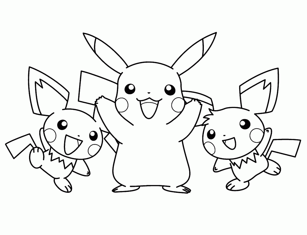Dibujos Para Colorear De Pokemon: Imagens Para Colorir (Divertidas E Lindas)