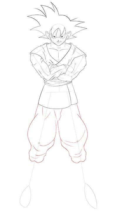 como desenhar o goku black muito fácil aprender a desenhar
