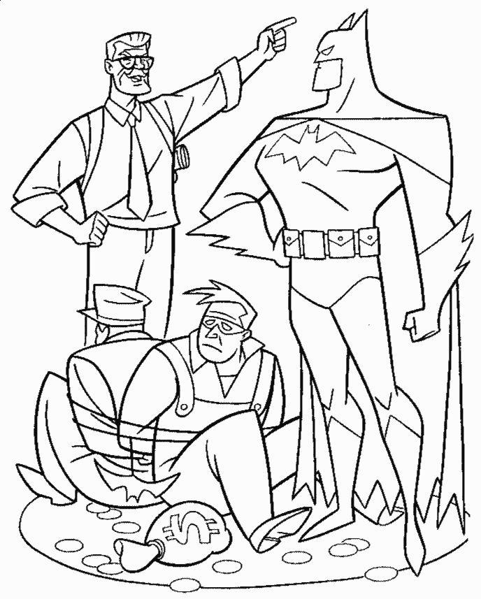 Batman para Colorir e Imprimir Muito F cil Colorir e