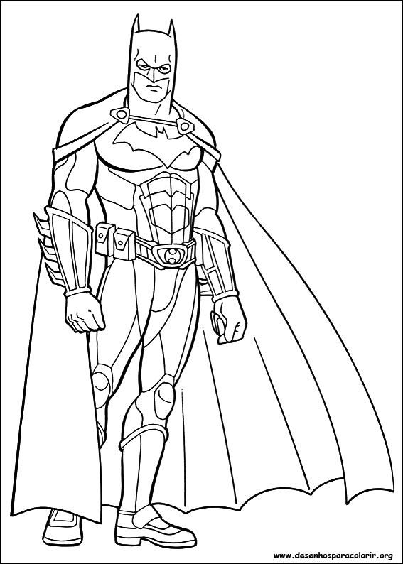 Batman para Colorir e Imprimir