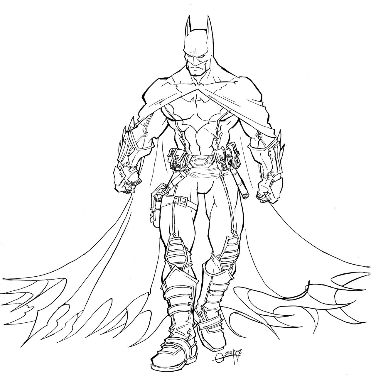 Batman Para Colorir E Imprimir Muito F 225 Cil Colorir E