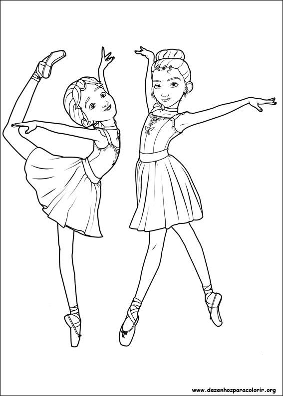 Desenhos Da Barbie Bailarina Para Colorir E Imprimir. desenhos da ...
