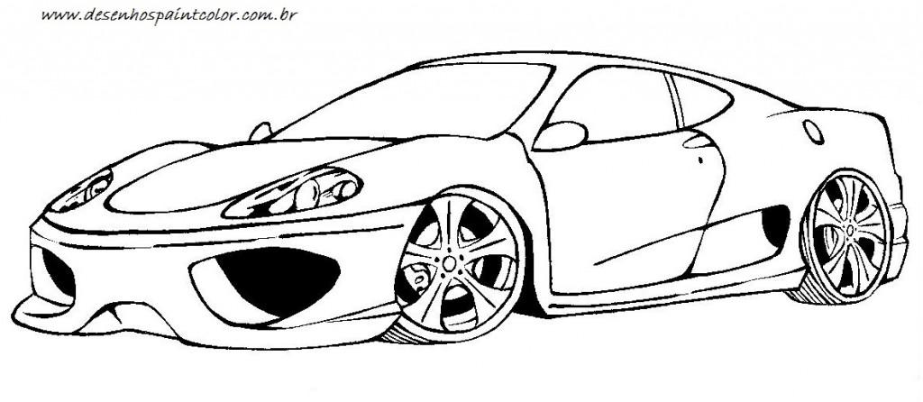 carros para colorir e imprimir - muito f u00e1cil
