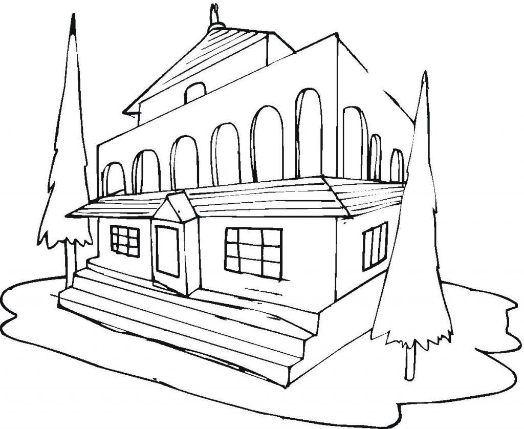 Casas Para Colorir E Imprimir Muito F 225 Cil Colorir E Pintar
