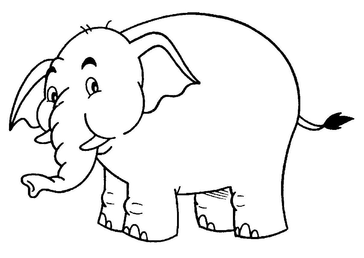 Jogo Desenhos Para Colorir Angry Birds Star Wars No Jogos: Elefante Para Colorir E Pintar 3