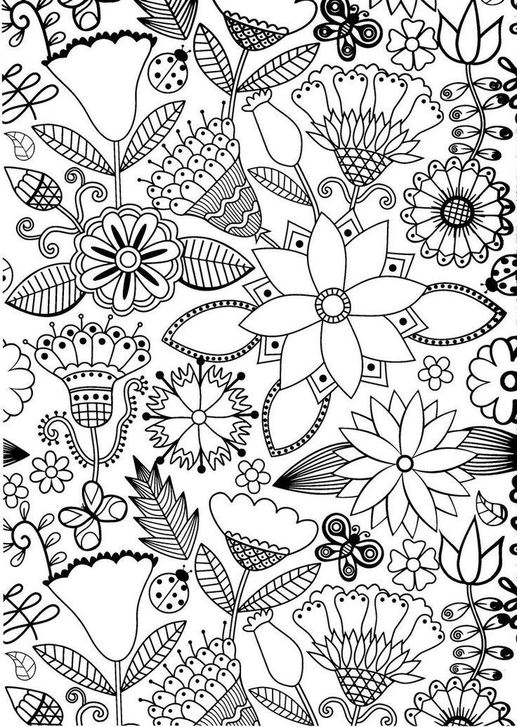 flores para colorir e imprimir muito fácil colorir e pintar