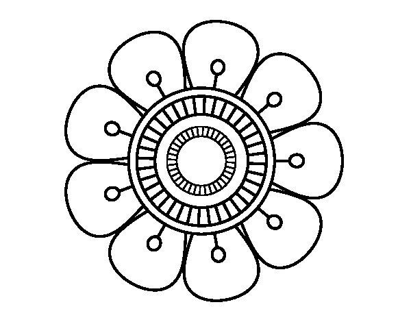 flores para colorir e pintar 16   aprender a desenhar