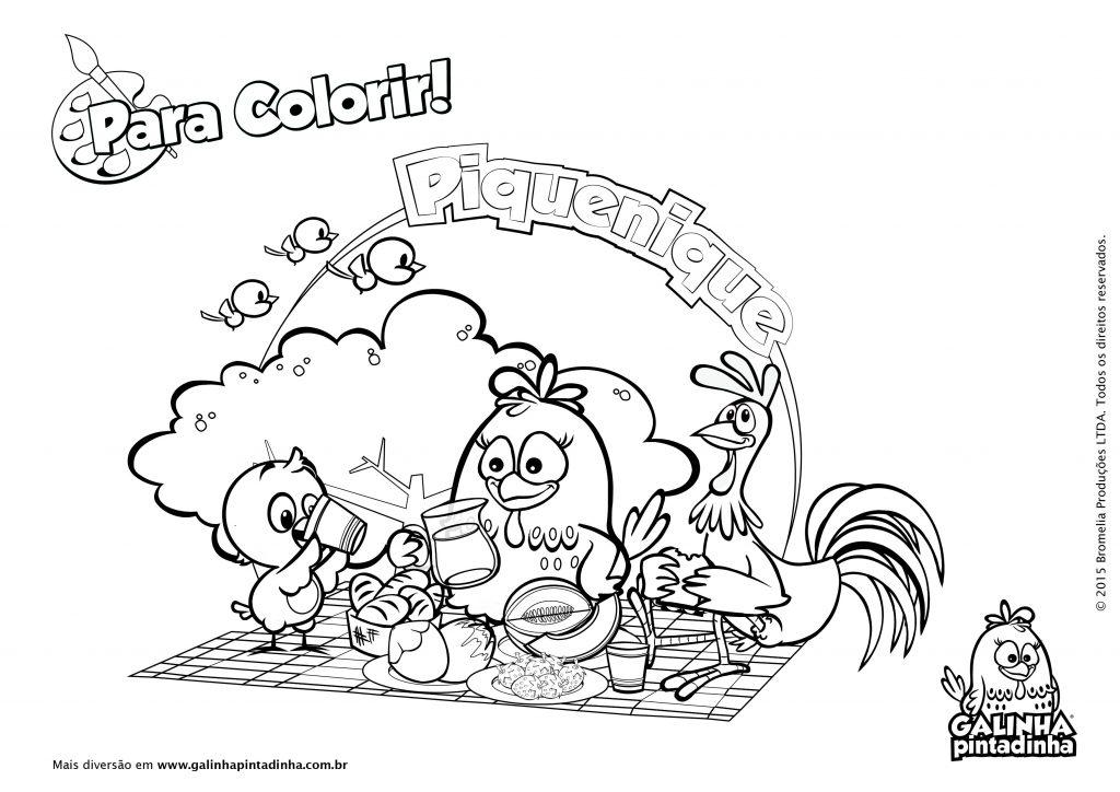 Desenhos De Animais Para Colorir Colorir: Galinha Pintadinha Para Colorir E Imprimir