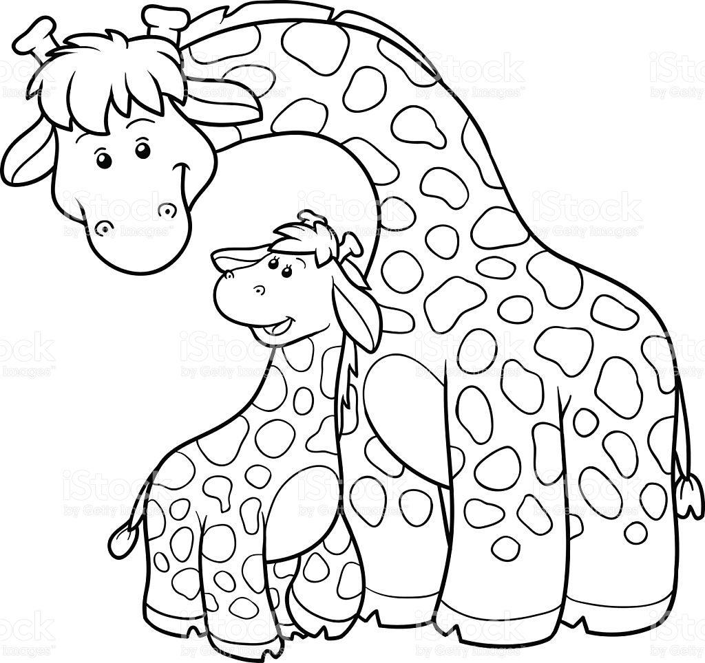 Girafa Para Colorir E Imprimir