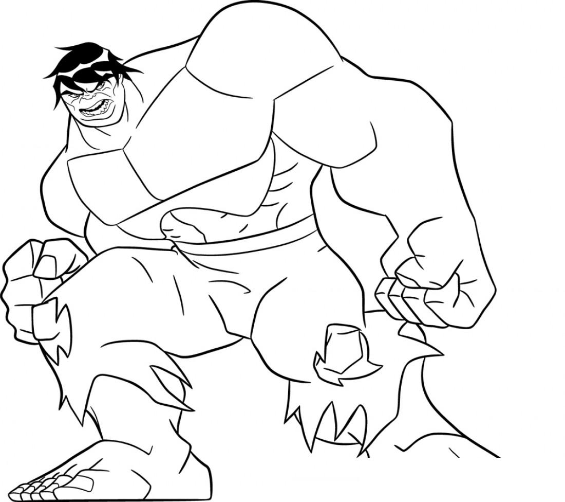 cartoon action coloring pages - photo#41