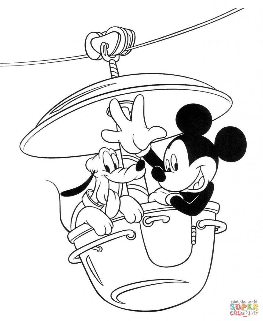 Mickey E Minnie Para Colorir E Imprimir Muito F 225 Cil