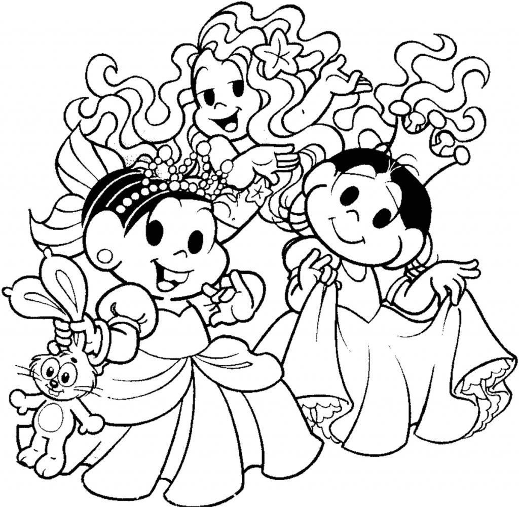 dibujos de princesas para imprimir