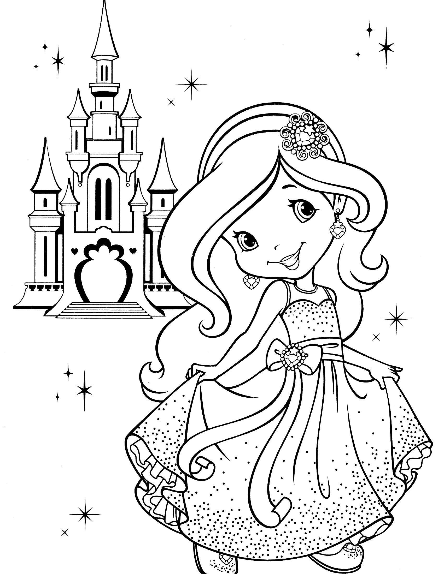Princesas para colorir e pintar 18 aprender a desenhar - Aprender a pintar ...