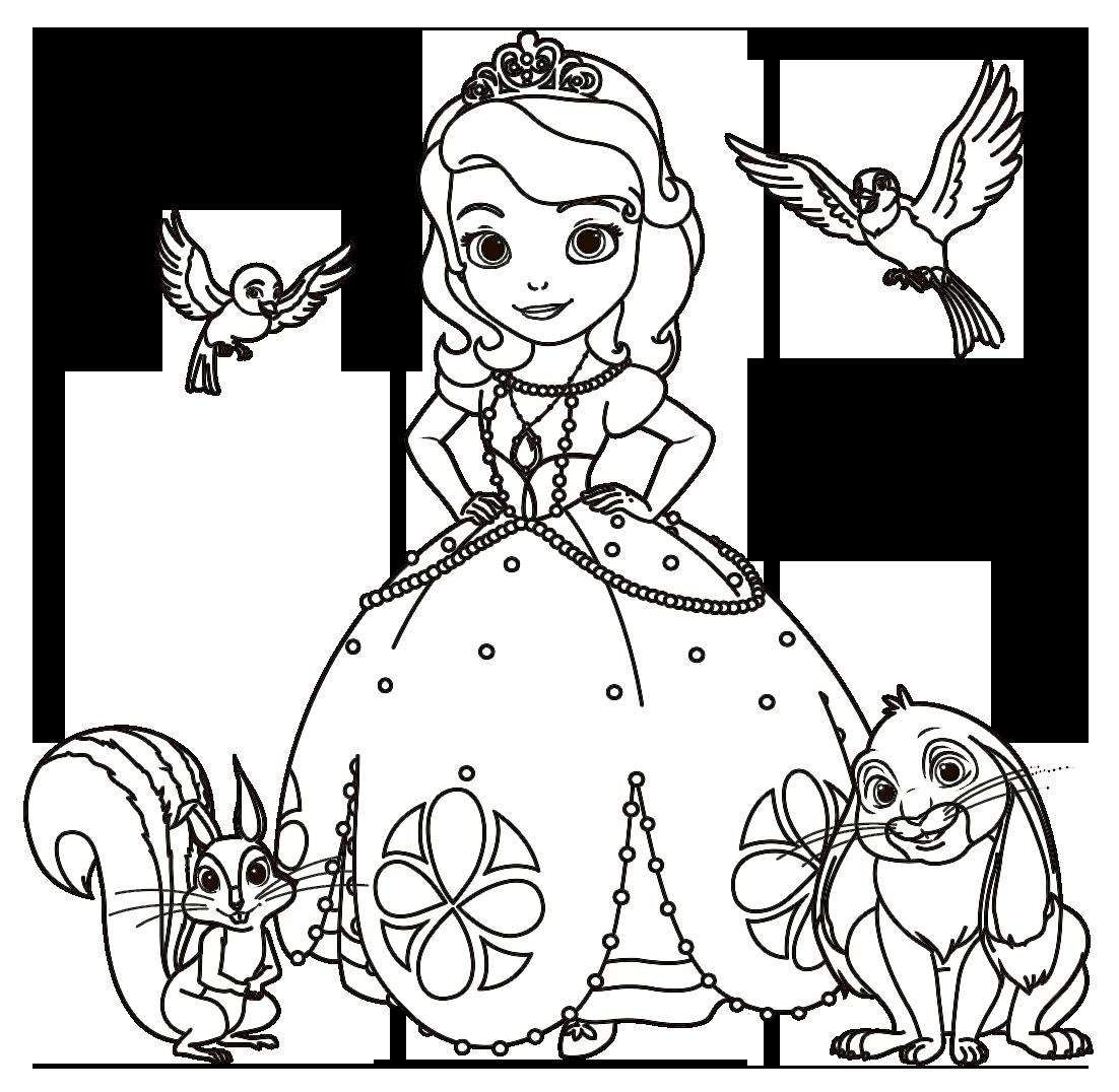 Desenhos Para Imprimir E Pintar Princesa Sofia picture gallery