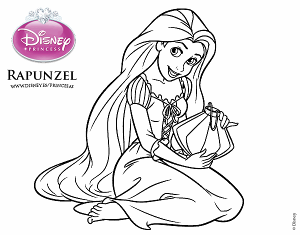 Dibujos Para Colorear Disney Para La Y Dibujos Para: Rapunzel Para Colorir E Imprimir