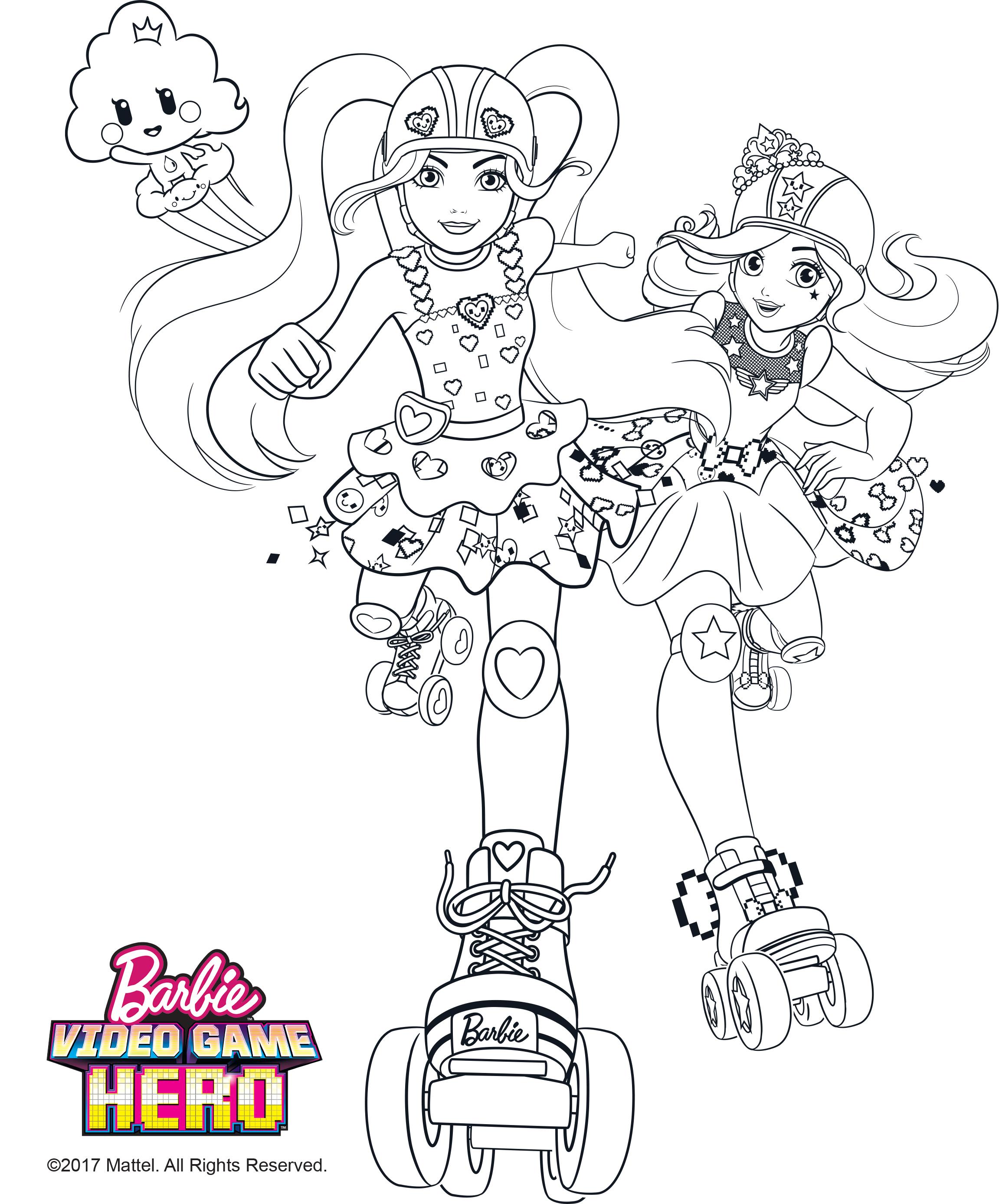 Barbie Para Colorir E Imprimir Muito Fácil Colorir E Pintar