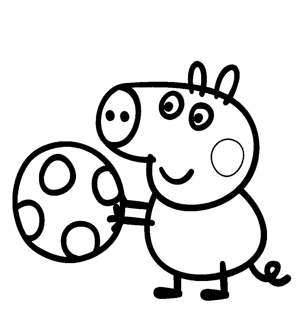 peppa pig para colorir e pintar