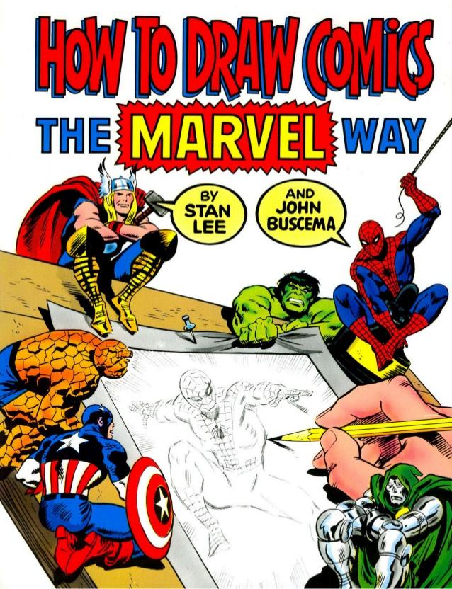 como desenhar comics