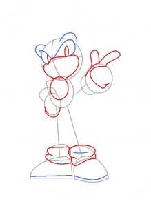 Como Desenhar o Sonic Versão Mais Nova
