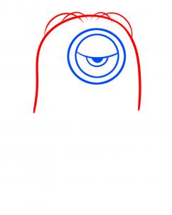 Como Desenhar o Stuart dos Minions