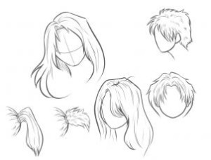 Como Desenhar Cabelo Muito Facil Aprender A Desenhar