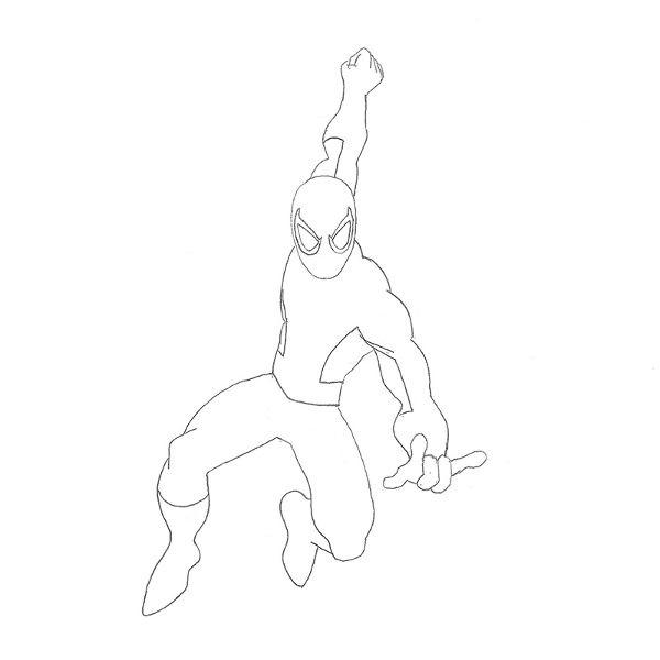 Como Desenhar O Homem Aranha Muito Facil Aprender A Desenhar