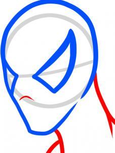 como desenhar o homem aranha