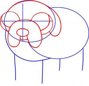 como desenhar o jake