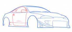 como desenhar carros