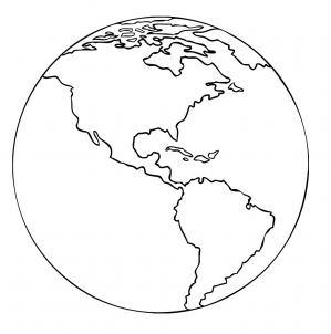 Como Desenhar Um Desenho Do Planeta Terra Muito Facil Aprender