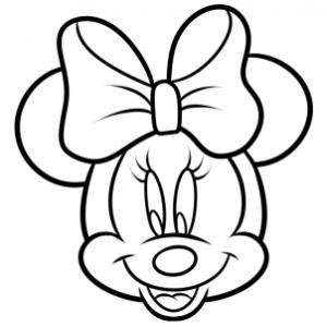 Como Desenhar A Minnie Muito Facil Aprender A Desenhar
