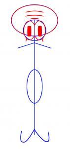 como desenhar o Lula Molusco