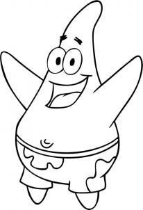 como desenhar o Patrick