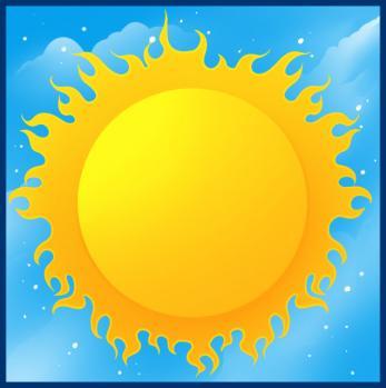 como desenhar o sol