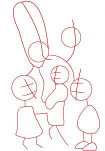 como desenhar os simpsons
