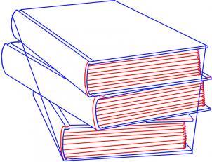 como desenhar um livro