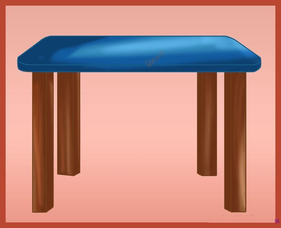 como desenhar uma mesa