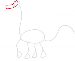 como desenhar o Arlo de o Bom Dinossauro