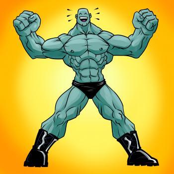 como desenhar músculos