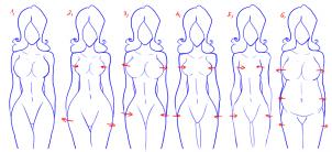como desenhar uma mulher